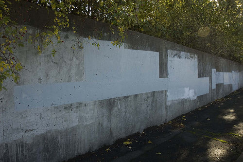 壁の落書き1