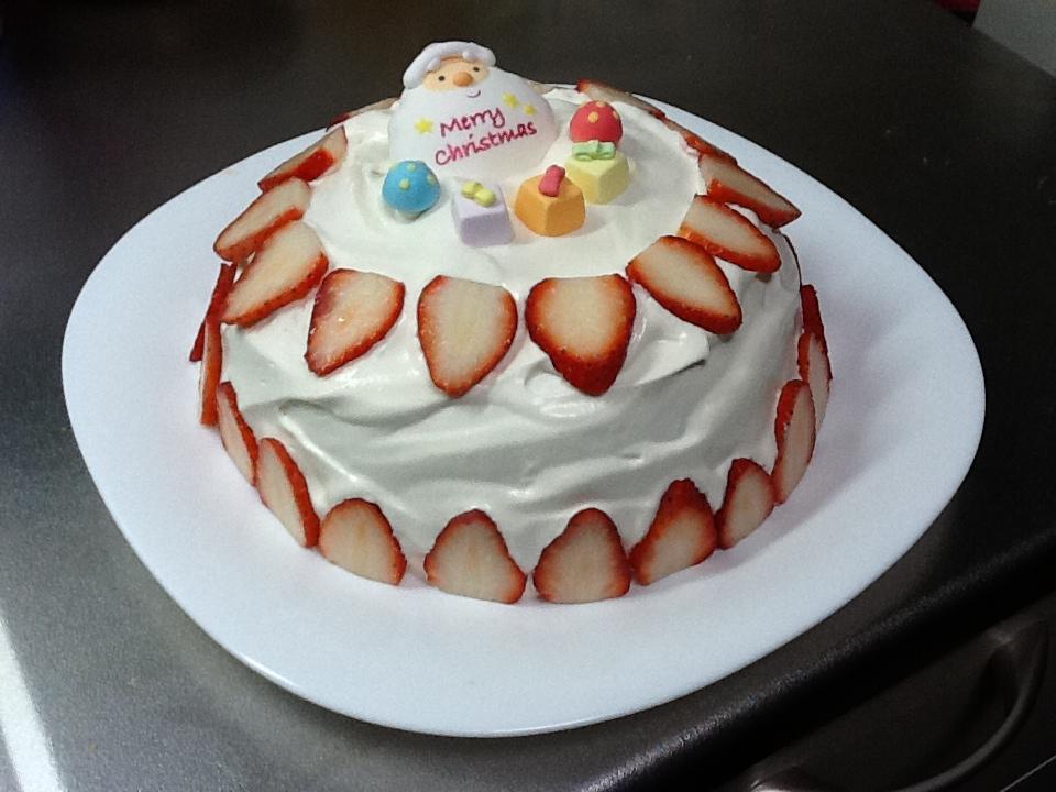 クリスマスケーキ 完成ケーキ