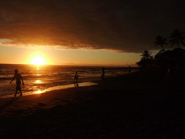 ハワイ サンセットビーチ ハワイ島