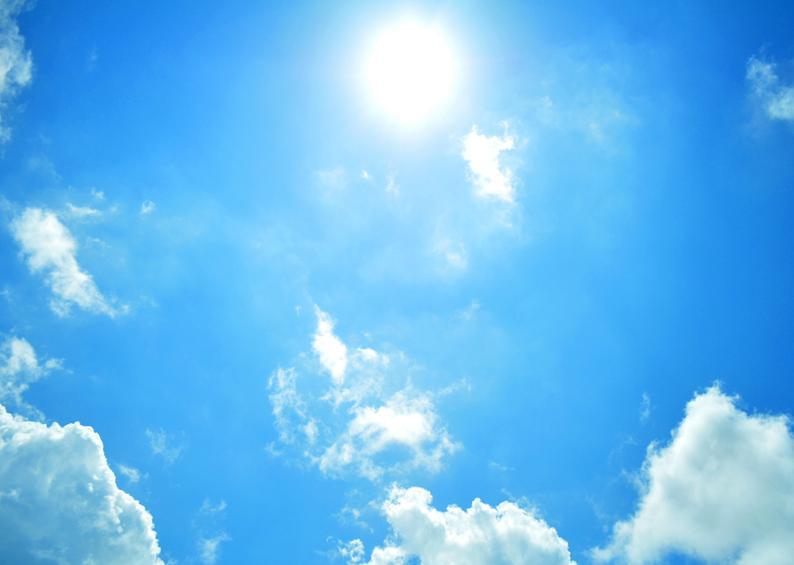 太陽のように。 sun bright