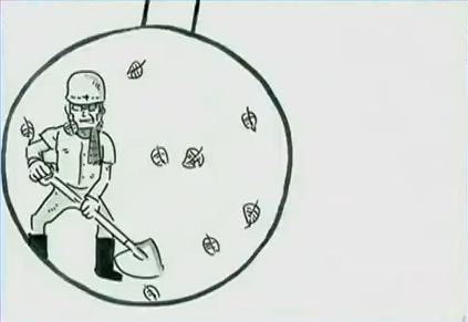 鉄拳 振り子 パラパラ漫画 動画