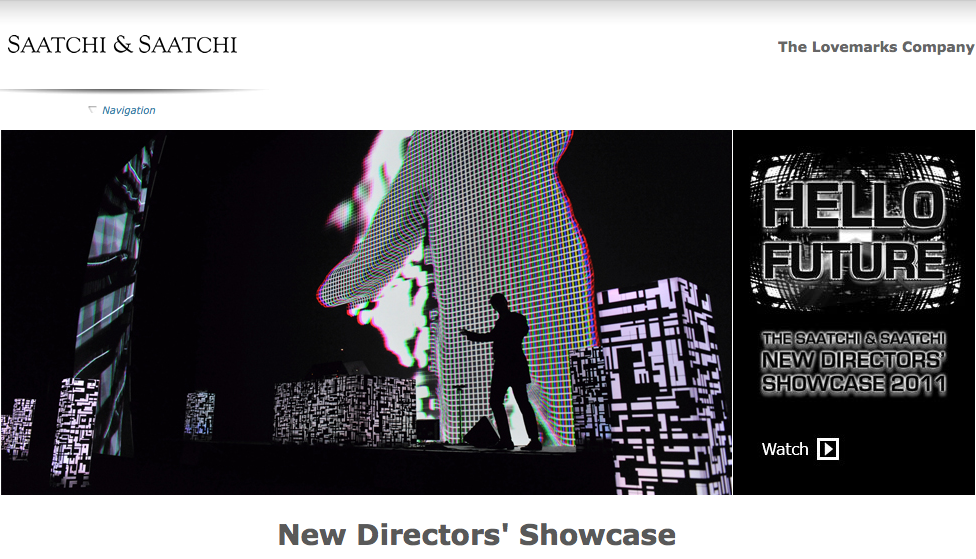 Saatchi & Saatchi New Directors' Showcase